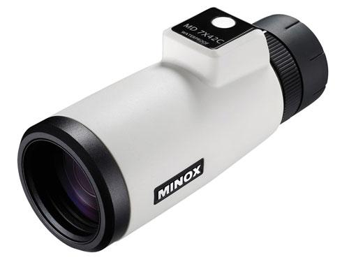 海上用デジタル単眼鏡 MD7×42C ホワイト ミノックス (日本正規品)