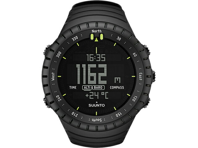 11c784d1b4 腕時計 手動膨張式 SUUNTO Core All 津波防災対策 Black SS014279010 ...