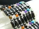 パワーストーン ネックレス/磁気ヘマタイトのぐるぐるネックレス 選べる8...