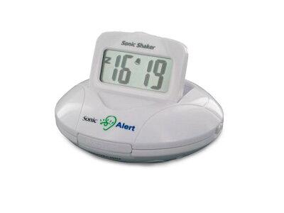 新生活応援 時計市場 ソニックシェーカ 携帯型振動式目覚まし時計 型番:SBP100 自立コム
