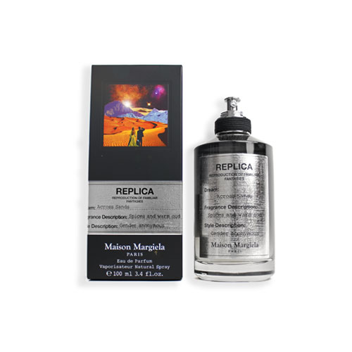 美容・コスメ・香水, 香水・フレグランス  100ml MAISON MARTIN MARGIELA REPLICA ACROSS SANDS EDP 9889