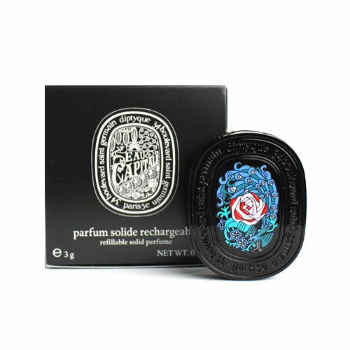 美容・コスメ・香水, 香水・フレグランス 2 3g DIPTYQUE EAU CAPITALE REFILLABLE SOLID PERFUME8776