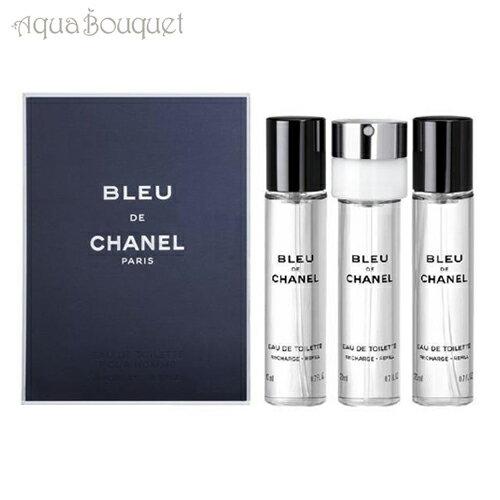美容・コスメ・香水, 香水・フレグランス  3x20ml3CHANEL BLEU DE CHANEL EDT 3 TRAVEL SPRAY REFILLS 8107