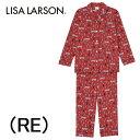 【ワコール】LISA LARSONリサラーソン長袖レディースパジャマ母の日綿100%送料無料ギフトラッピング無料内祝い出産祝いお誕生日プレゼントに最適
