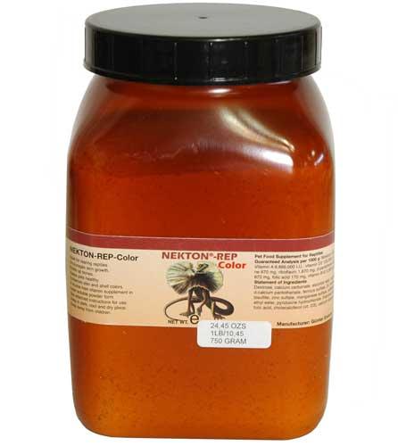 爬虫類 トカゲ カルシウム ビタミン エサ /サプリメント/添加剤/ NEKTON-REP-COLOR 750g(ネクトンレップカラー)(取り寄せ):アクアペットサービス