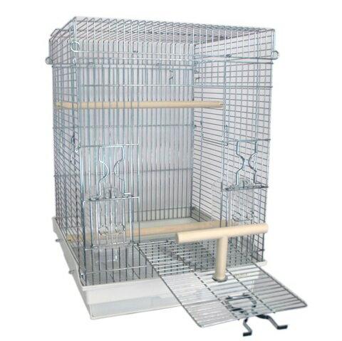 鳥かご HOEI 465パラキート 底カラー:ホワイト(組立サイズ:465x465x650mm)【送料無料】