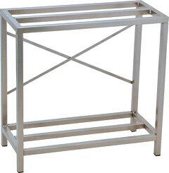 60cm水槽台 ニッソー組立スチールキャビネット600