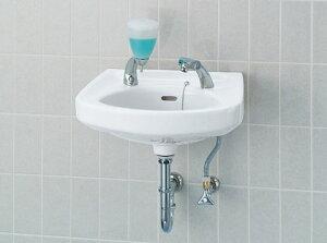 LIXIL INAX そで付小形洗面器(壁付式)立水栓セット L-132G + LF-503