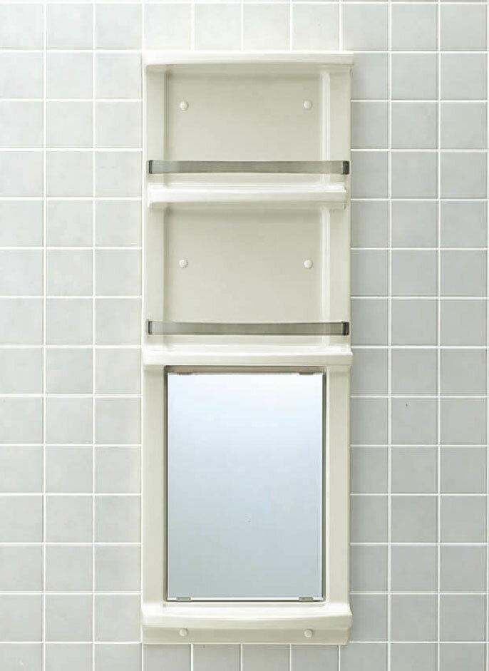 LIXIL INAX 浴室収納棚(鏡付)平付 YR-412G