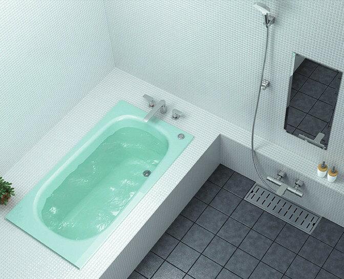 TOTO 浴槽 ネオマーブバス エプロンなし ワンプッシュ排水栓 1400サイズ PNS1400RJ PNS1400LJ:アクアshop