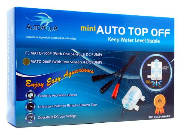 AUTOAQUA MINI AUTO TOP OFF MATO-200P(水位コントロールセット) 熱帯魚・アクアリウム 用品・器具 飼育関連