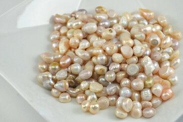 淡水パール (真珠)さざれ(50g)/穴なし/宝石/Pearl/サザレチップ