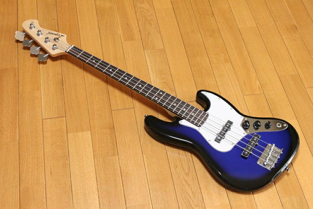 ベース, エレキベース ARIA Legend LJB-MINI BBS(Blue Black Sunburst)
