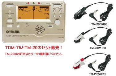 YAMAHATDM-75とTM-20のセット販売