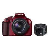 【即納】CanonEOSKiss X50 こだわりスナップキット レッド