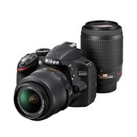 特別セールにつきお支払いは振込のみとなります【送料無料】【即納】Nikon D3200 200mm ダブル...