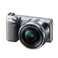 【送料無料】Sony α NEX-5RL パワーズームレンズキット [シルバー] デジタル一眼(ミラーレス...