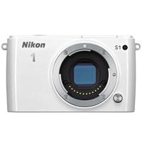 特別セールにつきお支払いは振込のみとなります【送料無料】【即納】Nikon 1 S1 ボディ [ホワイ...