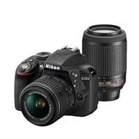 特別セールにつきお支払いは振込のみとなります【送料無料】【即納】Nikon D3300 ダブルズーム...