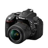 【送料無料】Nikon D5300 18-55 VR IIレンズキット [ブラック] デジタル一眼レフカメラ JAN末番0814