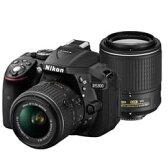 【送料無料】Nikon D5300 ダブルズームキット2 [ブラック] デジタル一眼レフカメラ JAN末番4536