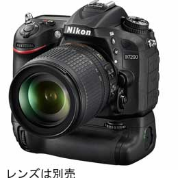NikonD7200バッテリーパックキット