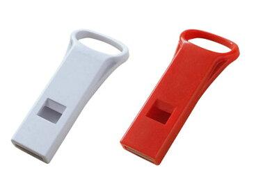 プラスチック ホイッスル(携帯、アクセサリー、災害時、防犯、防災に)ネックストラップ、パスケースに装着!安全安心に