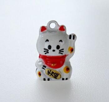 幸せを呼ぶ まねき猫鈴 チャーム アクセサリー簡単に取り外しできます。携帯、鍵やバッグ、お子様のランドセルに取り付けてもOK!縁起物
