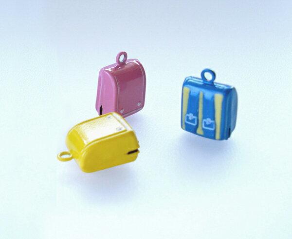 ランドセル鈴 チャーム アクセサリー簡単に取り外しできます。携帯、鍵やバッグ、お子様のランドセルに取り付けてもOK!