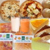 【送料込・冷凍便】カフェ・アランチャお試しセット〜選べる和歌山産フルーツのスイーツ&スムージーと本格ピッツァの全8種類10個