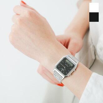 ■ CASIO (CASIO) an analog-digital dual time watch aq-230a-rf