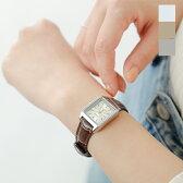【ラクーポン対象】CASIO(カシオ)スクエアケースレザーベルト腕時計 ltp-v007l-rf