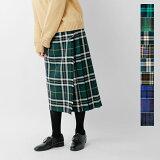 【2017aw新作】O'NEIL OF DUBLIN(オニールオブダブリン)aranciato別注チェック巻きスカート 5073w-sn【サイズ交換初回無料】