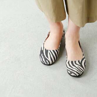 """■ fs/ny (エフエススラッシュエヌワイ) ballet shoes """"sloop"""" ZEBRA SUEDE / standard products"""