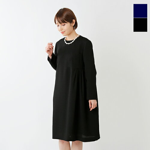 nooy(ヌーイ)ブークレジャガードブラックベルワンピース fop01-so