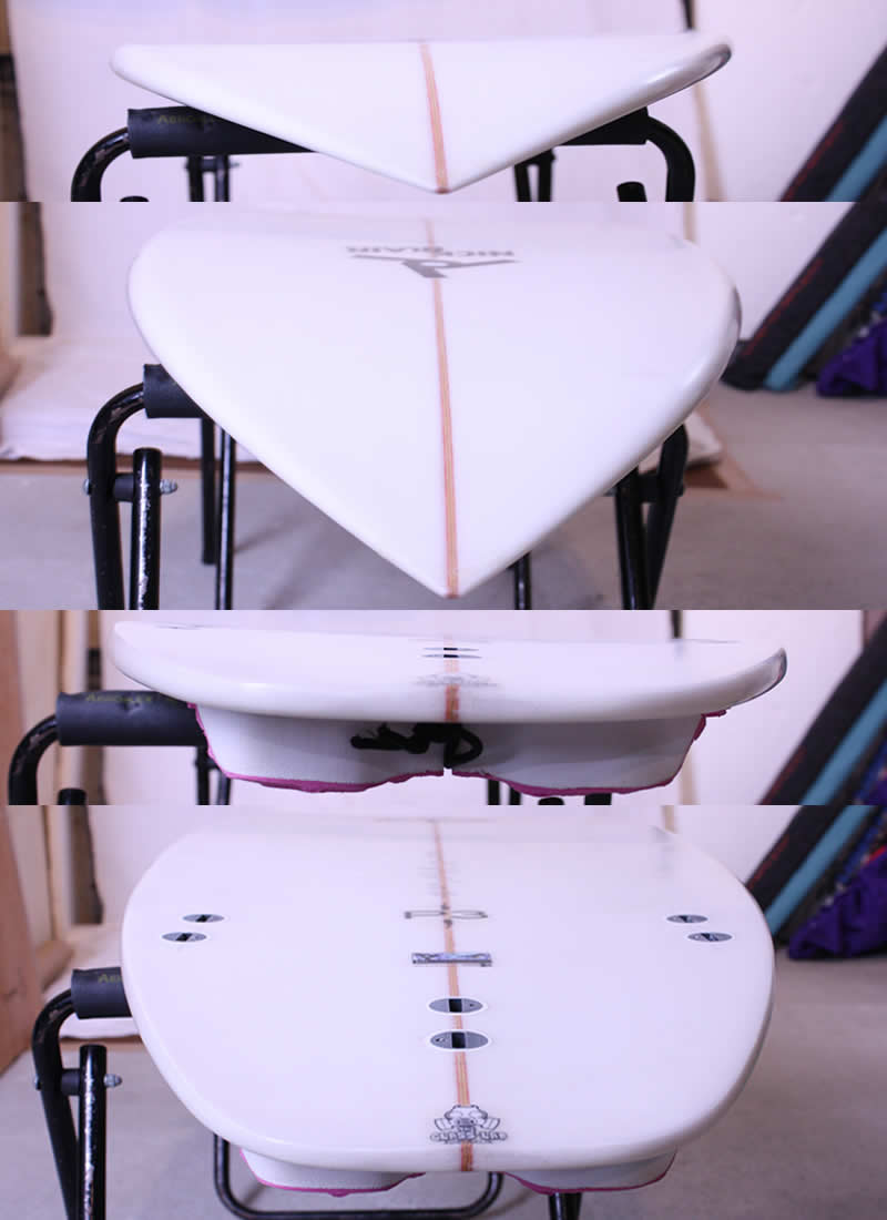 """【中古】JOISTICK(ジョイスティック)サーフボード [Clear]5'9"""" ショートボード"""