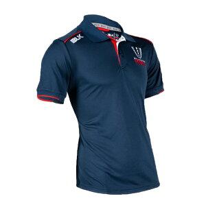 BLKメルボルン・レベルズメディアポロシャツ2019AR008-391ラグビー通気性速乾性