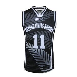 BLKバスケットボールシングレットブラックAR008-398ラグビータンクトップ夏メンズファッションノースリーブ