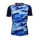 【10%OFF】BLK T2 ティーシャツ NBC  ラグビー 迷彩 AR008-307