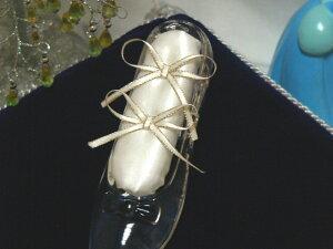 【ガラスの靴】専用リングピロークッション 結婚式/ガラスの靴/リングピロー/ディズニー/プロポーズ/