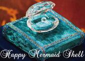 人魚姫の真珠貝HappyMermaidShell&台座ギフトセット