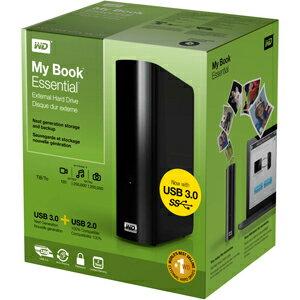 【WesternDigital】 WDBACW0010HBK My Book Essential USB 3.0接続対応 外付HDD 1TB NTFSフォー...