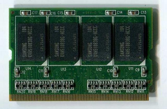 Major on 3rd 旧レッツノート、VAIO、BIBLO、FLOLA等に使えます!メジャーチップ搭載 Micro-DIMM PC2700 DDR 512M (333)画像