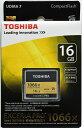 [TOSHIBA] 東芝 EXCERIA PRO 1066倍速 UDMA7対応 CFカード 16GB CF-016GSR8A