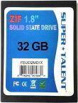 SUPER TALENT DuraDrive ZT4 SSD 1.8インチ 32GB MLC ZIF(IDE)接続 FEU032MD1X