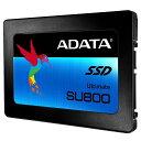 【ADATA】 256GB SSD Ultimate SU800 2.5インチ SATA 6G TLC(3D NAND) 7mm ASU800SS-256GT-C