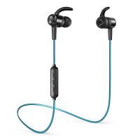 TaoTronics タオトロニクス 連続再生8時間 防水仕様 ノイズキャンセリング Bluetooth ブルートゥース ワイヤレス イヤホン TT-BH026 ブルー