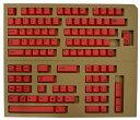 【東プレ】 REALFORCE104/87配列 交換用カラーキートップフルセット(赤) XF0100-KT3