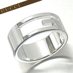 【GUCCI】グッチ リング GUCCI 指輪 シルバー925 Gマーク Gリン…