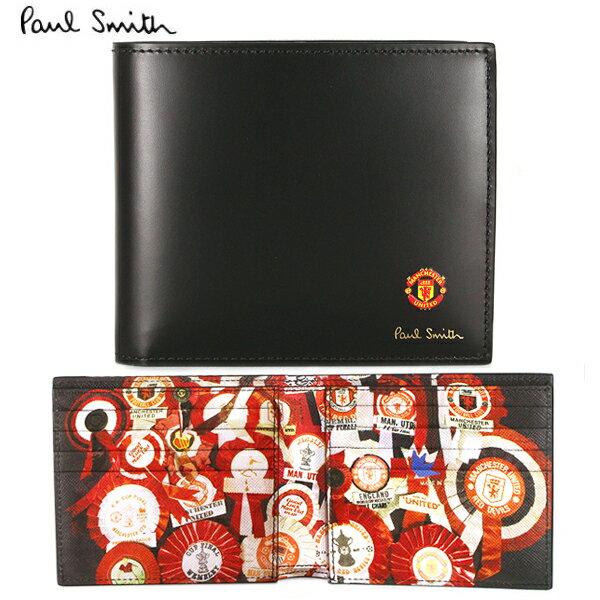 財布・ケース, メンズ財布  PaulSmith Manchester United M1A 4832 A40423 79